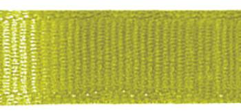 """Grosgrain Ribbon 3/8""""X18' Lemongrass"""
