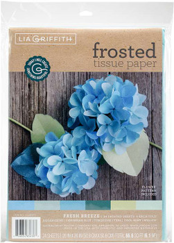 Frosted Tissue Paper 24/Pkg Fresh Breeze