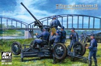 1/35 WWII German Flak 25 4cm AA Gun