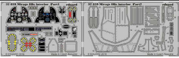 1/32 Aircraft- Mirage IIIc Interior for ITA (Painted)