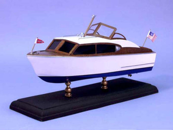 "Dumas 1707 12"" 1956 Chris Craft 24' Sedan Boat Laser Cut Kit"