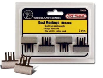Woodland Scenics Dust Monkeys - HO Scale