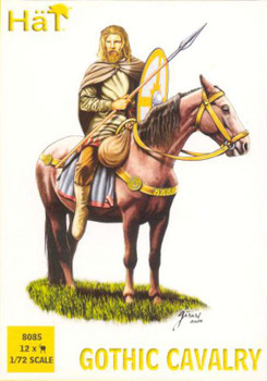 Hat 12 Gothic Cavalry Plastic Soldiers 8085