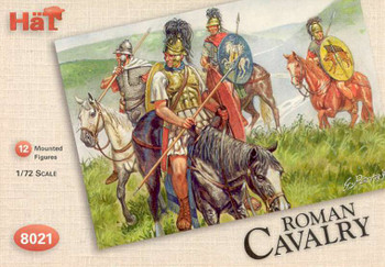 1/72 Hat 8021 Romans Cavalry Soldiers