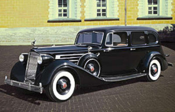 WWII Packard Twelve Mod 1936 Soviet Leader Car -- Plastic Model Staff Car Kit -- 1/35 -- #35535