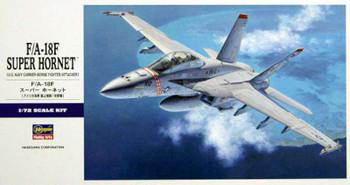Hasegawa 00548 F/A-18F Super Hornet 1/72 Scale Plastic Model Kit