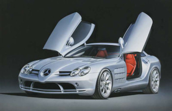 Tamiya 1/24 Mercedes-Benz Slr Mclaren Model Car