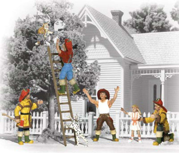 Firemen to The Rescue (N Scale)