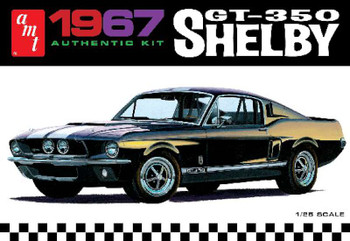 1/25 1967 Shelby GT350 Car (White)