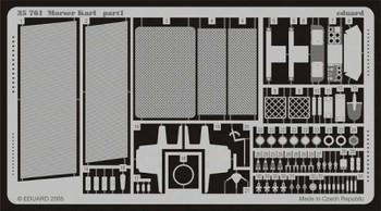 Eduard Models Armor- Morser Karl -- Plastic Model Vehicle Accessory