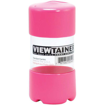 "Viewtainer Slit Top Storage Container 2""X4"" Pink"