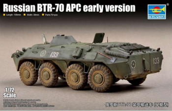 Trumpeter 1/72 Scale Russian BTR-70 APC Early Version