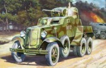 Zvezda ZVE3617 BA-10 Soviet Armored Car 1/35
