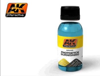 AK Interactive Photo-Etch Burnishing Fluid 100ml Bottle -- Hobby and