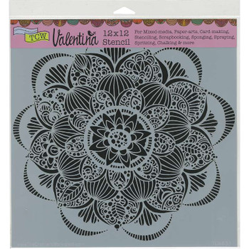 "Crafter's Workshop Template 12""X12"" Gin Blossom"