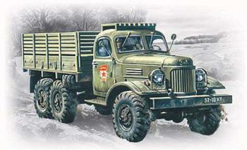 ZIL157 Soviet Army Truck -- Plastic Model Military Truck Kit -- 1/72 Scale -- #72541