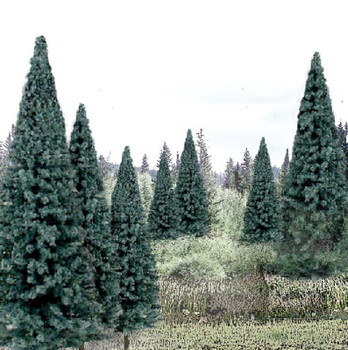 Spruce Trees Package of 13