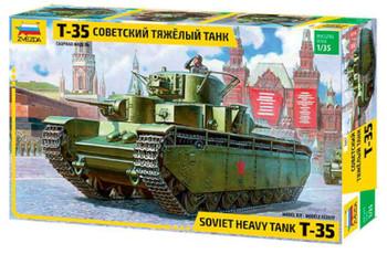 Zvezda 1/35 T-35 Heavy Soviet Tank 3667