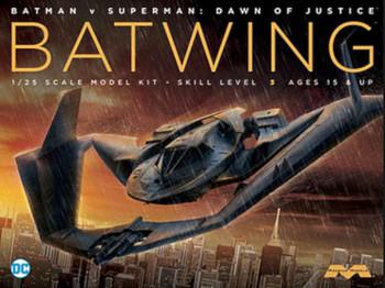 BvS Batplane -- Science Fiction Plastic Model -- 1/25 Scale -- #969