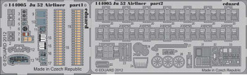 1/144 Aircraft- Ju52 Airliner for EDU (Painted)