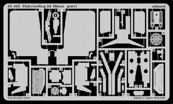 Eduard Photoetch 1:35 - Flakvierling 38 20mm (Tamiya) - EDP35463