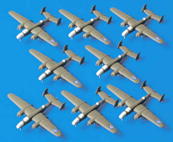 B-25 Mitchell, 1/700 by Tamiya, Model Airplane