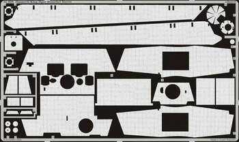 Eduard Models Armor- Zimmerit King Tiger Henschel -- Plastic Model