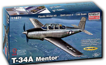 1/48 T43A/B Mentor Aircraft (New Tool)