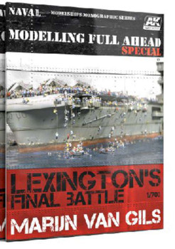 AK Interactive Lexington's Final Battle Modeling Full Ahead Special