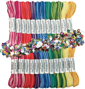 Zenbroidery Stitching Trim Pack Variegated