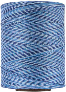 Coats Cotton Machine Quilting Multicolor Thread 1200yd Blue Clouds