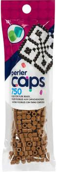 Perler Cap Beads 750/Pkg Light Brown