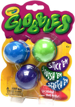 Crayola Globbles 3/Pkg Assorted Colors