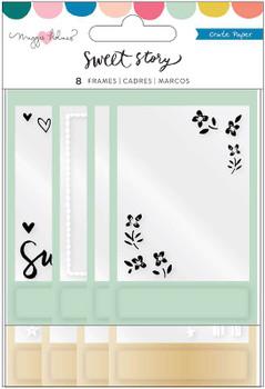 Maggie Holmes Sweet Story Puffy Frames 8/Pkg W/Acetate Window