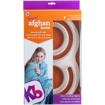 """Knitting Board Super Afghan Loom 11""""X19"""""""