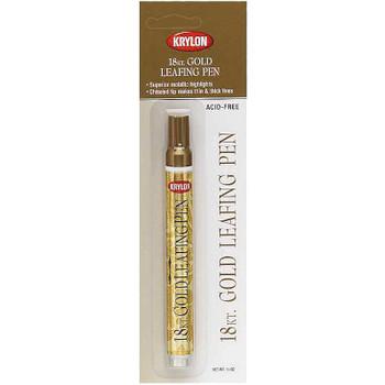 Leafing Pen 18 Karat Gold