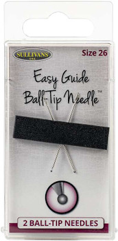 Sullivan's Easy Guide Ball-Tip Needles 2/Pkg Size 26 (37mm)