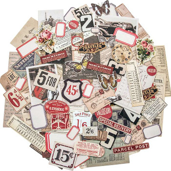 Idea-Ology Ephemera Pack 111/Pkg Snippets Tiny Die-Cuts