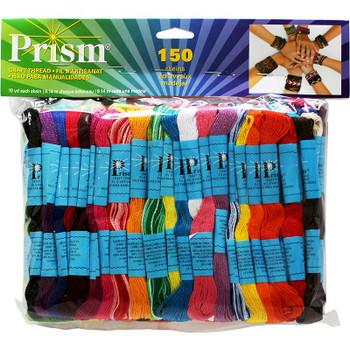 DMC Prism Craft Thread XL Pack 8.7yd 150/Pkg Assorted Colors