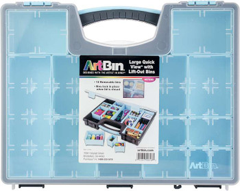 Artbin Large Quick View W/Removable Bins 13 Bins