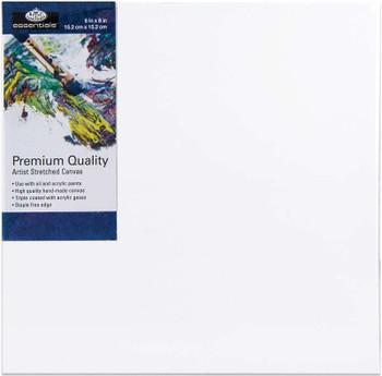 """essentials(TM) Premium Stretched Canvas 6""""X6"""""""