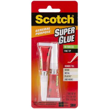 Scotch Super Glue Gel 2/Pkg .07oz