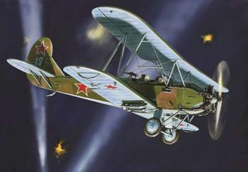 Zvezda 1/144 Po-2 Soviet Reconnaissance Plane WWII 6150