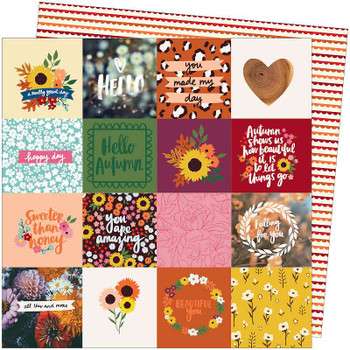 """Amy Tan Late Afternoon Double-Sided Cardstock 12""""X12"""" All This And More"""