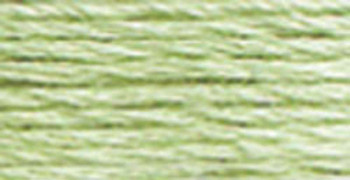 DMC Pearl Cotton Skein Size 3 16.4yd Very Light Pistachio Green