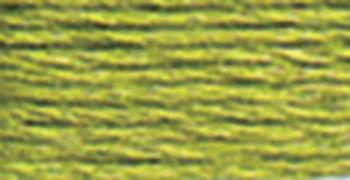 DMC Pearl Cotton Skein Size 5 27.3yd Very Light Avocado Green