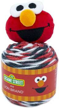 Lion Brand Sesame Street One Hat Wonder Yarn Elmo