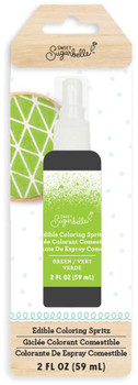 Sweet Sugarbelle Edible Color Mist 2oz Lime Green