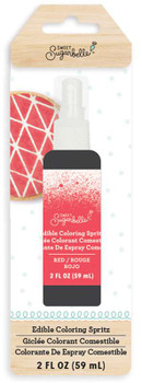 Sweet Sugarbelle Edible Color Mist 2oz Red