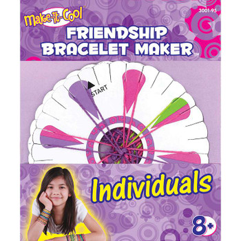 Cool Cord Friendship Bracelet Pack Assorted Colors